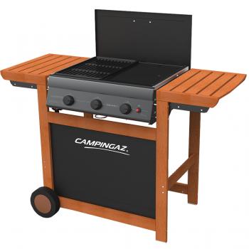 Campingaz 3 Series.Campingaz 3 Series Adelaide Woody 3 Burner Gas Barbecue