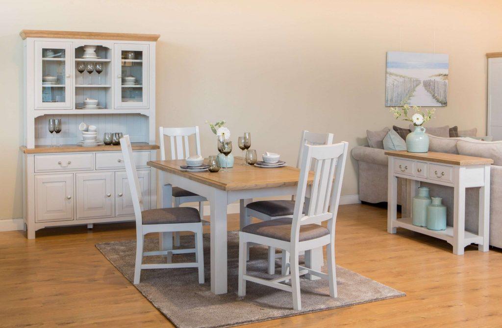 Eden Extendable Solid Oak Dining Table Forever Furniture