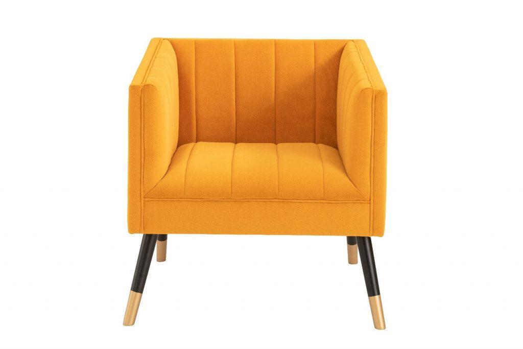 jackson armchair mustard